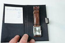 Bergmann 1928 Uhr Herrenuhr ungetragen aus 2007 im Etui Lederarmband M-2864
