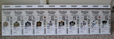RARE PITTSBURGH STEELERS FOAM BOARD 2013 TICKET SIGN THROWBACK UNIFORMS
