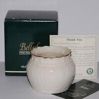 Belleek Collectors Society Lace Bowl #0816 Ireland NIB