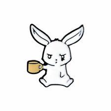 Pin Cute Enamel Pins Backpack Badge Creative Cartoon Rabbit Brooch Cute Lapel