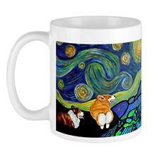 CafePress - Corgi Starry Starry Night Mug - Unique Coffee Mug, Coffee Cup