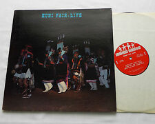 ZUNI FAIR Live USA gatefold LP INDIAN HOUSE (1972) Native american music EX+/NM