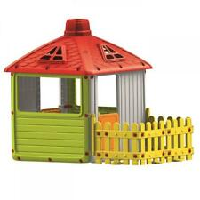 4579865ce089 Dolu Garden City with Fence Kids Childrens Playhouse Indoor Outdoor 2 Years  +