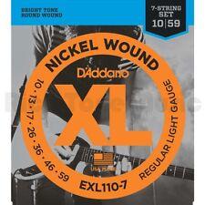 D 'Addario EXL110-7 regular luz 7 String Set 10-59