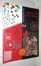 PROGETTO ALICE 2000 cicli scolastici Coniche Modello Poincare Lineari Geometria