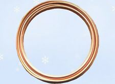 "HVAC Plumbing & Refrigeration Copper Tubing 3/8"" OD 50 Ft. Per Coil. Made in USA"