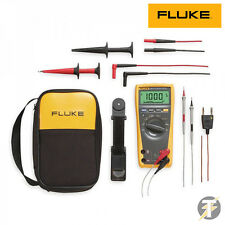 Fluke 179/EDA2 179 True RMS Digital Multimeter Combo Kit with temperature probe