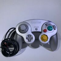 Official Nintendo GameCube Controller OEM Switch Wii Tested DOL-003 Silver