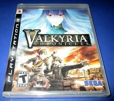 Valkyria Chronicles PS3 - Factory Sealed!! Free Shipping!!