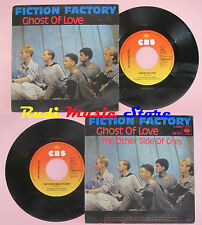LP 45 7'' FICTION FACTORY Ghost of love The other side of grey 1983 cd mc dvd