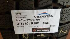 215/60/R16C - Vredestein ComTrac 2 Winter M+S - 9mm 103T - DOT2718 (T174)