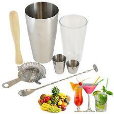 Manhattan Cocktail Maker Gift Set Glass Mixer Shaker Bar Measure Accessories