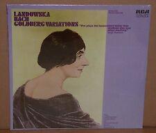 Wanda Landowska BACH Goldberg Variations Harpsichord RCA VIC 1650 SEALED LP MONO