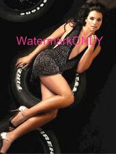 Danica Patrick Nascar-Indy Driver SUPER SEXY mini skirt AD PHOTO! #(55)