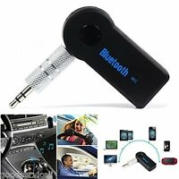 Mini Bluetooth Hands-free Wireless Music Audio Stereo Adapter Receiver For Car