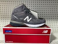 New Balance 990v4 Mid Mens Athletic Hiking Trail Running Boots Size 11 D Gray