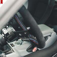 VIILANTE TOURISMO 350mm STEERING WHEEL SUEDE *BMW TRI-COLOR STITCH* - E46 E46M3
