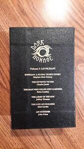 "Cased Set of 6 "" Dark Homage Vol 1 -Lovecraft""  Delirium Books Signed Limited"