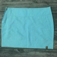 Women's UNDER ARMOUR Skirt 14 Blue Athletic Golf Casual