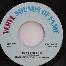 Jazz 45 Stan Getz/Joao Gilberto - Desafinado / Early Autumn On Verve Sounds Of F