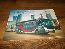 MCV 600 Coach Brochure Prospekt Catalogue