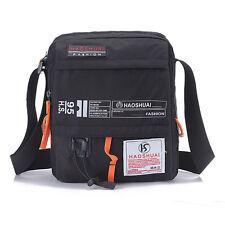 Men Nylon Travel Hiking Crossbody Pack Recreational Sport Messenger Shoulder Bag