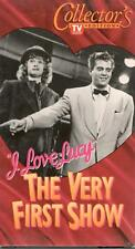 I Love Lucy - The Very First Show (1949) VHS Lucille Ball Desi Arnaz vintage CBS