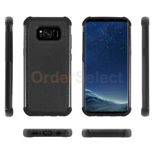 For Samsung Galaxy S8 Case Hybrid Hard Shockproof Rubber Plastic Rugged Cover