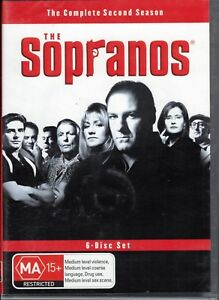 THE SOPRANOS The Complete 2nd Season 2 Two (6 x DVD Set) NEW & SEALED Free Post