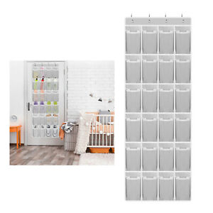 Over the Door Shoe Organizers,Hanging Shoe Holder with 24 Durable Large