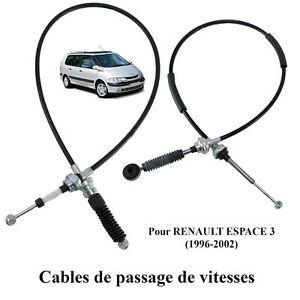 Tirette à cable de boîte de vitesse Espace 3 = 6025306288 - 6025306287