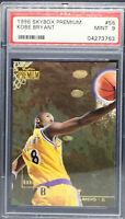 1996 Skybox Premium Kobe Bryant ROOKIE RC #55 PSA 9 MINT Lakers Mamba