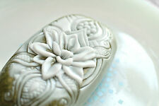 LOTUS INDIAN STYLE  - SILICONE SOAP MOLD MOULD plaster clay wax resin