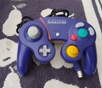 Original Nintendo Game Cube Controller in Clear Purple
