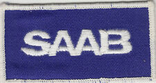 SAAB automobile sew on / embroidered patch