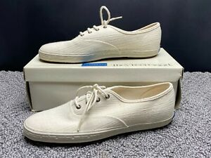 New Vintage Women's Keds Champion White Walker Canvas Blue Tag Sneakers 8 M