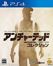 Used PS4 Uncharted Collection   SONY PLAYSTATION 4  JAPANESE  IMPORT