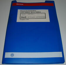 Werkstatthandbuch VW Golf 4 IV Typ 1J Bora Motronic Zündanlage 4 Ventiler 05/99!