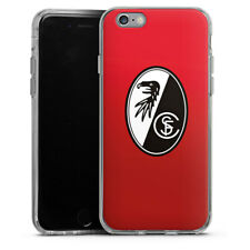 Apple iPhone 6 Silikon Hülle Case - SC Freiburg - Rot