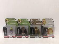 World of Nintendo 8-Bit Link + Tetra + Ganondorf + Gold Ganondorf Mini Figures