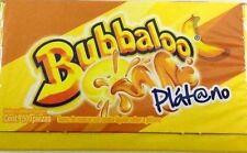 BUBBALOO CHEWING GUM PLATANO (BOX OF 50 PCS) 275g