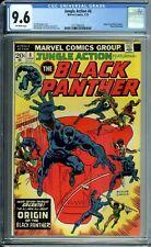 JUNGLE ACTION 8 CGC 9.6 ORIGIN BLACK PANTHER 1/74 Marvel Comics NEW CGC CASE