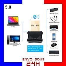 Clé USB Bluetooth V5.0 Mini adaptateur Dongle Sans Fil pour PC Windows clef usb