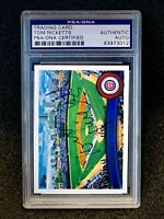 2011 Topps Tom Ricketts Autograph PSA/DNA Authentic