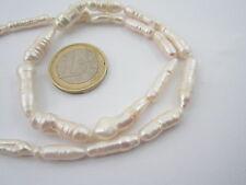 filo di perle scaramazze tubolari irregolari
