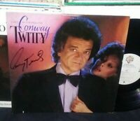 CONWAY TWITTY Lost in the Feeling LP RARE SIGNED AUTOGRAPHED ON FRONT COVER !!