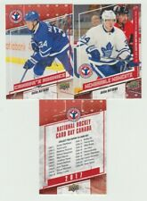 2016-17  2017 Upper Deck National Hockey Card Day Canada 17 Card Complete Set