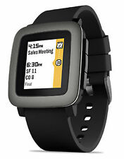 Pebble Time Silicone/Rubber Band Smartwatches Android