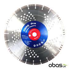 Obas Pro 350mm 14″ General Masonry Turbo Diamond Cutting Disc Stihl Blade