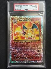 PSA 10 Gem Mint - CHARIZARD BOX TOPPER HOLO - Pokemon Legendary Collection #S1